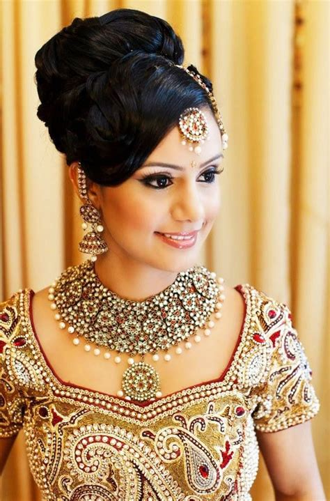 Hairstyles For Hair For Indian by Indian Bridal Hairstyles For Medium Hair