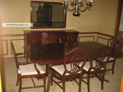 1950s Dining Room Furniture 1930 S Duncan Phyfe 11 Mahogany Dining Room Set 1900 1950 Photo Dining Room