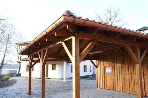 Carport Mit Dachziegeln 2523 by Walmdach Carport Mit Mediterranen Dachziegeln