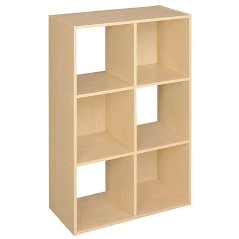 Closetmaid Laminate Storage Shop Closetmaid 6 Alder Laminate Storage Cubes At Lowes