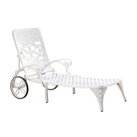 White Chaise Chair by Chaise Lounge Chair In White 5552 83