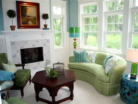 green livingroom blue and green living rooms house interior designs