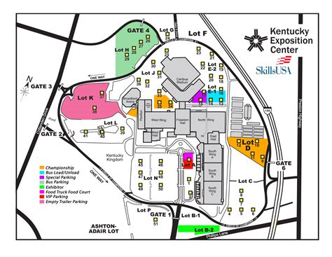 kentucky expo map skillsusa postsecondary advisor s corner