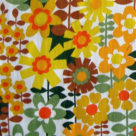 Retro Fabric by Pin By Kathy Perry On My Time In The 60 S And 70 S