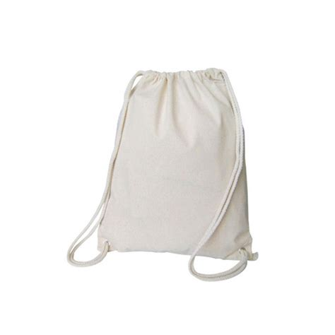 Canvas String - canvas drawstring bag