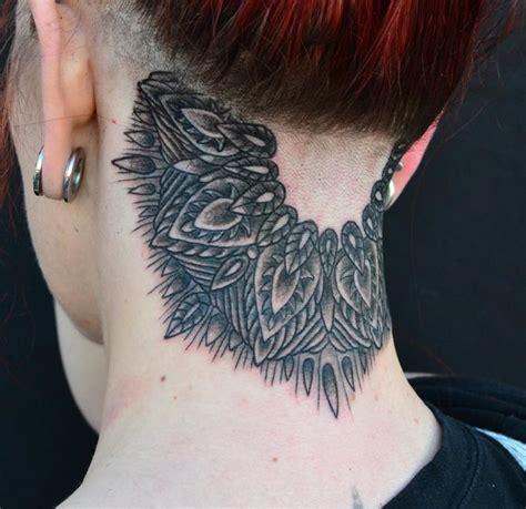 j tattoo on neck jeff johnson tattoo tattoos misc black neck mandala