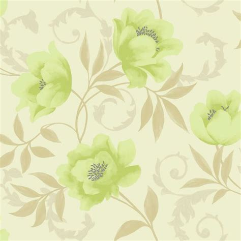 wallpaper green and cream k2 vintage feature wallpaper lime cream 10581 at wilko com