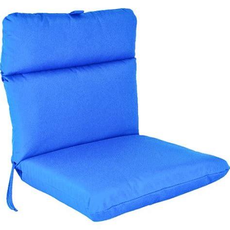 Blue Patio Chair Cushions by Edge Patio Chair Cushion Pacific Blue Walmart
