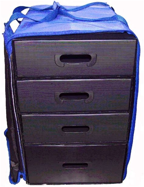 super suitcase with drawers p0316 mugen rc carrying bag 4 drawers blue r c tech