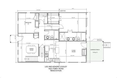 architectural sketch of house plan escortsea
