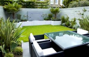 Landscape Ideas For Small Gardens Small Garden Design Ideas With Cool Outdoor Living Furniture Homelk