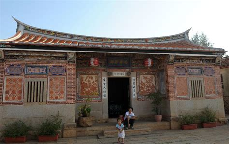 chinese home ancient house seen at shuitou village in kinmen china s