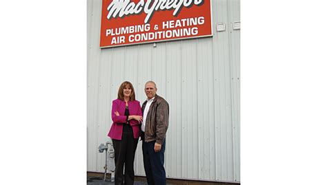 Mcgregor Plumbing Heating by In Plumbing Macgregor Plumbing President Julie