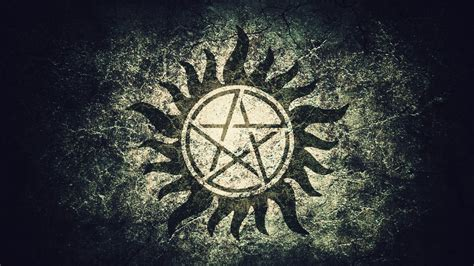 supernatural pentagram wallpaper www pixshark com
