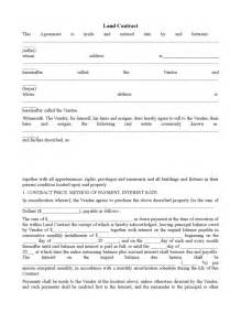 land contract form 2 legalforms org