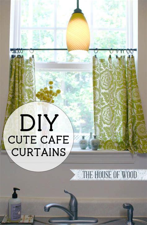 curtain curtains kitchen windows simple pattern