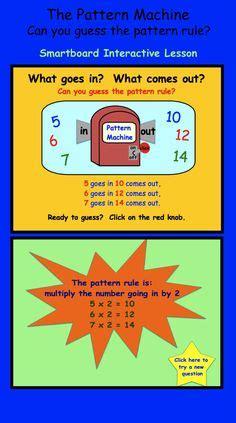 pattern smartboard activities 3rd grade classroom ideas on pinterest common cores