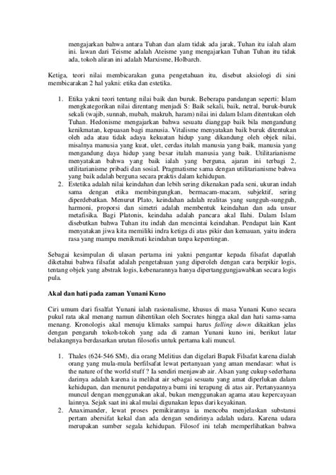 Aliran Aliran Filsafat Etika Juhaya S Praja filsafat ilmu