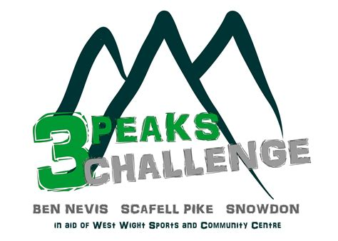 for 3 peaks challenge 3 peaks challenge west wight sports and community centre