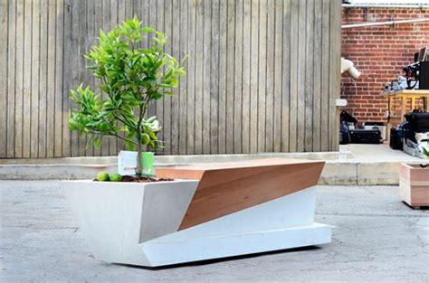 modern planter bench deck bench planter designs 187 woodworktips