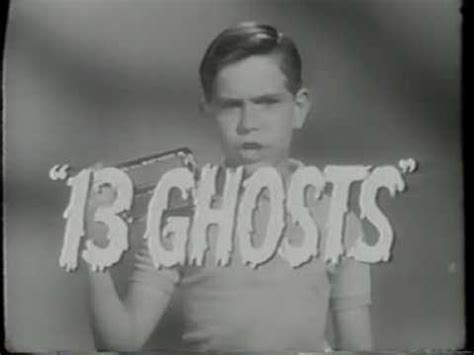 film thirteen ghost youtube 13 ghosts tv trailer 1960 youtube