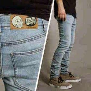 Celana Pria Kekinian Biru Muda Telor Asin celana cheap monday biru telor asin cm bta