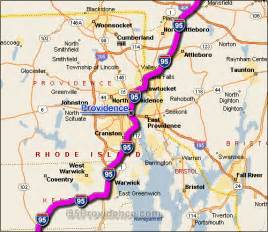 map of carolina along i 95 i 95 providence traffic maps and road reports