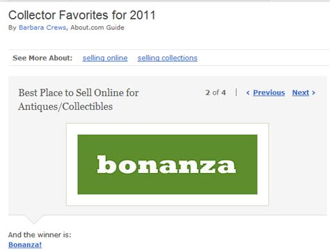 best place to sell bonanza wins quot best place to sell for antiques