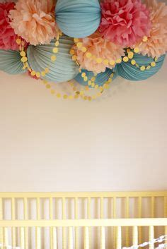 hanging pom poms from ceiling 1000 images about stella jade s nursery on