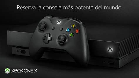 Xbox One X Free 20 Judul corre ya puedes reservar la xbox one x engadget en espa 241 ol