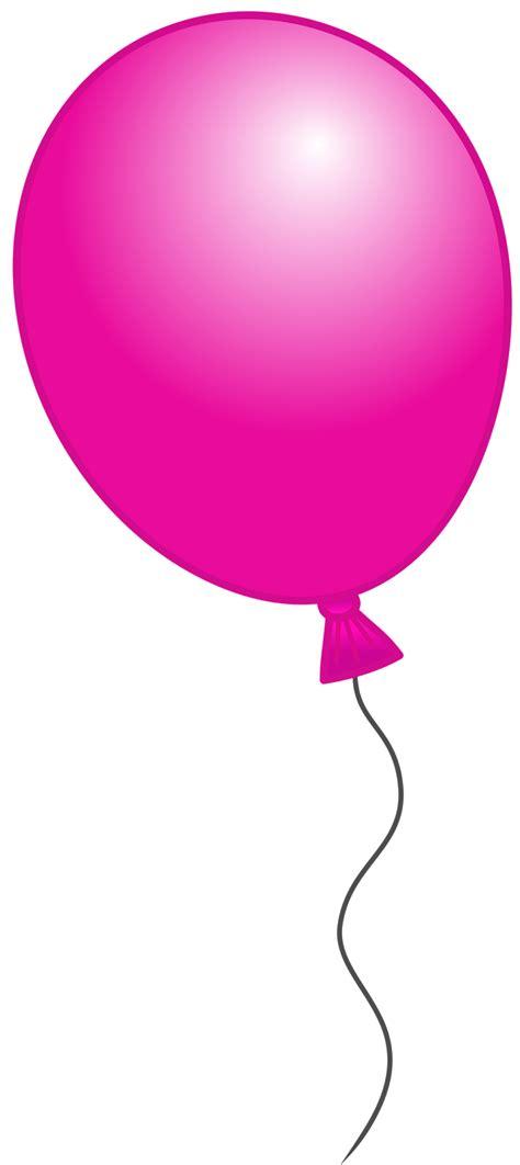 clipart ballo pink balloon clip cliparts