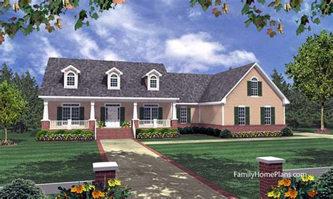 Small House Plans Southern Living Ranch Home Porches Add Appeal And Comfort