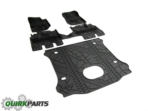 cargo mat for jeep wrangler unlimited with subwoofer 15 17 jeep wrangler unlimited slush mats cargo area mat