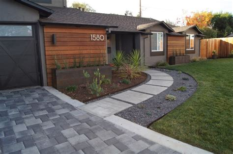 Small Modern Front Garden Ideas Landscaping For by 18 Front Yard Landscaping Designs Ideas Design Trends