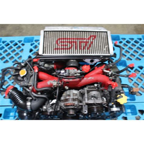 subaru wrx sti version  engine ej twin scroll turbo