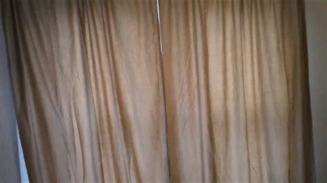 sheets into curtains how to turn a sheet into curtain panels youtube