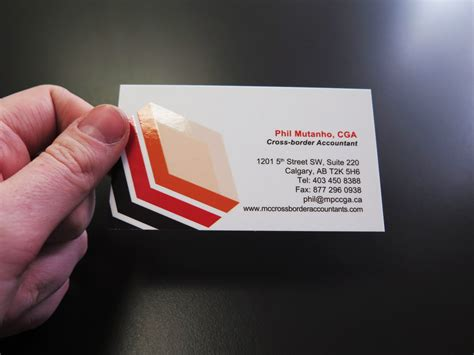Of Calgary Business Card Template by Spot Uv Business Cards Minuteman Press