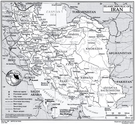 un cartographic section iran time for a new approach report of an independent
