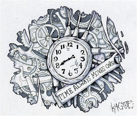 clockwork tattoo designs clockwork by kagoe on deviantart