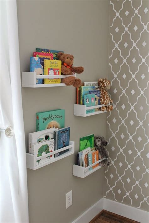 1000 ideas about nursery bookshelf on nursery