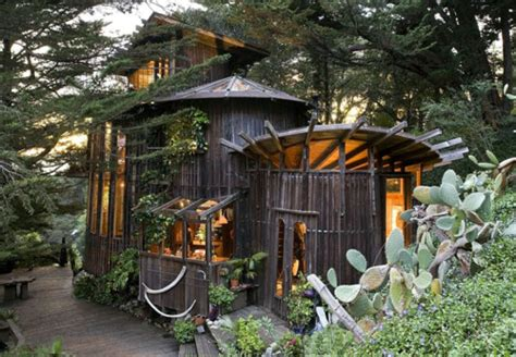 Handmade In California - redwood wine barrel house in big sur buy redwood