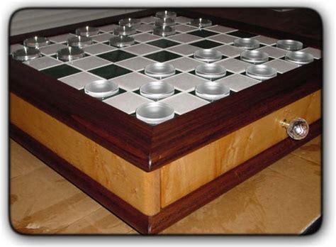 fivebraids custom woodworking chess board  storage