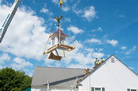 Plumb Library Rochester Ma by New Cupola On Plumb Library Shines Thanks To Community Effort By Sparling Marion