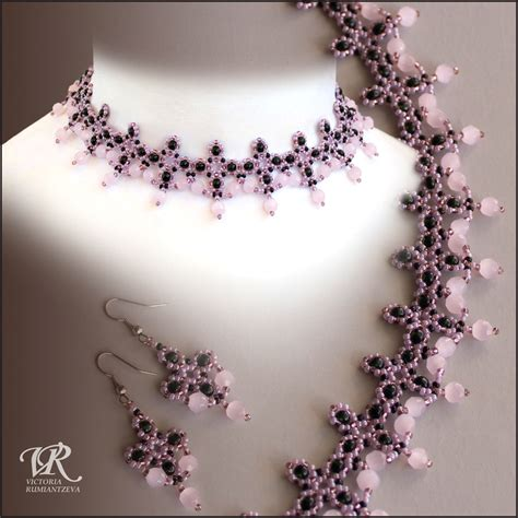 free jewelry patterns free pattern for beaded necklace pink flamingo magic