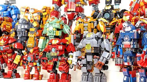 amazing lego iron man hall armor mechanical suit