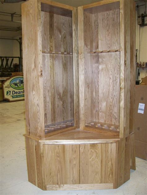 Handmade Gun Cabinet - custom gun cabinet by foggy bottom furniture pieces by