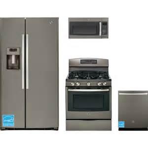 brandsmart kitchen appliance packages ge gse25hmhes slate complete kitchen package brandsmart usa