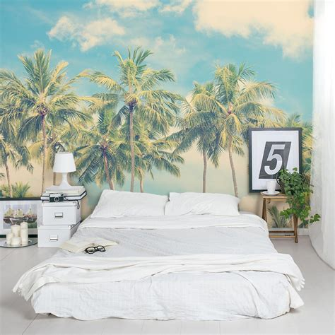 vintage palm tree wall mural vintage palm wall decal