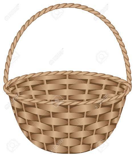 clipart basket wicker basket clipart clipground
