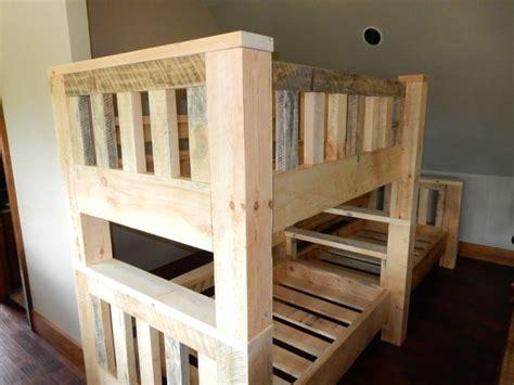 heavy duty bunk beds custom heavy duty timber bunk beds
